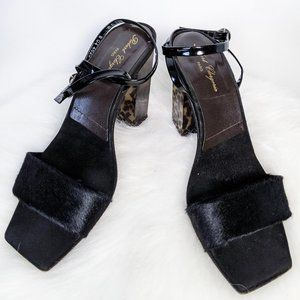 Robert Clergerie Square Toe Heeled Sandals